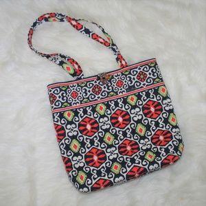 Vera Bradley Retired Sun Valley Print Bucket Bag